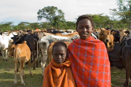 Dzieci Masajów