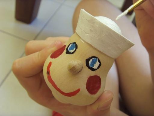 Malujemy głowę marionetki