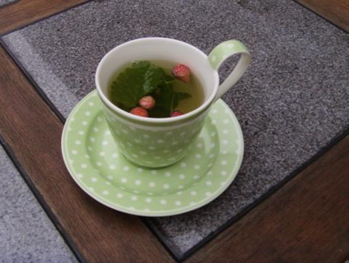 Poziomkowa herbata