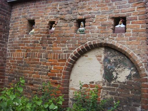Mieszkańcy toruńskich murów miejskich