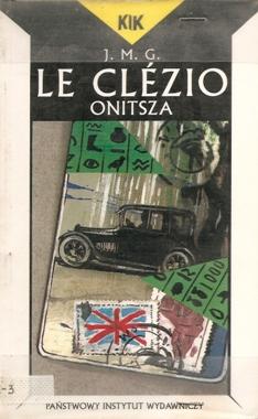 """Le Clezio """"Onitsza"""""""