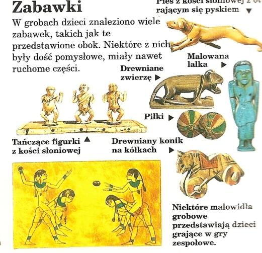 Egipskie zabawki