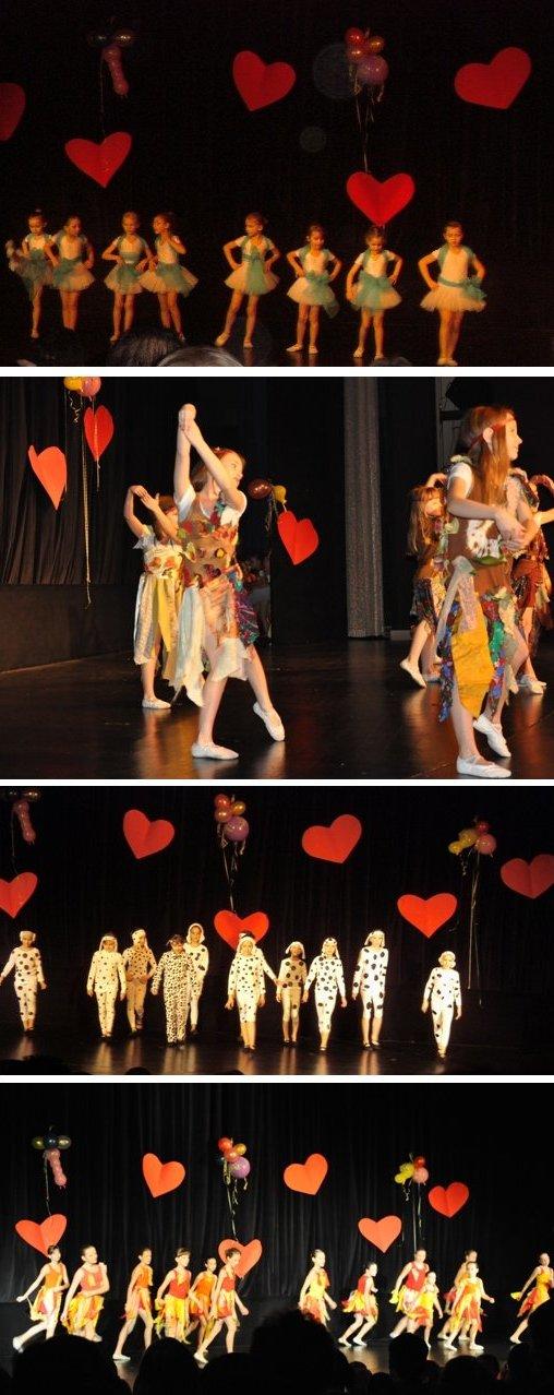 """Przedstawienie baletowe """"Kochamy bajki"""""""