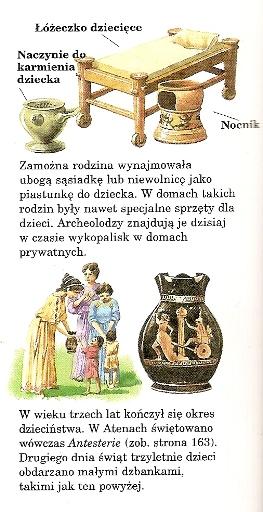 Dzieciństwo w starożytnej Grecji