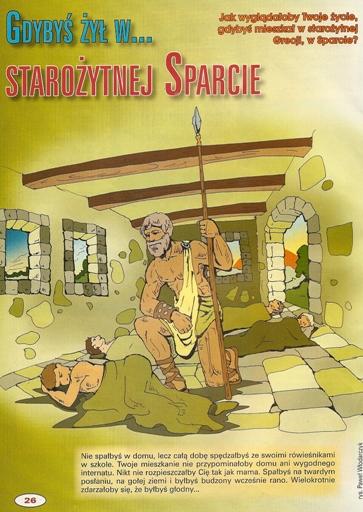 Wychowanie w starożytnej Sparcie
