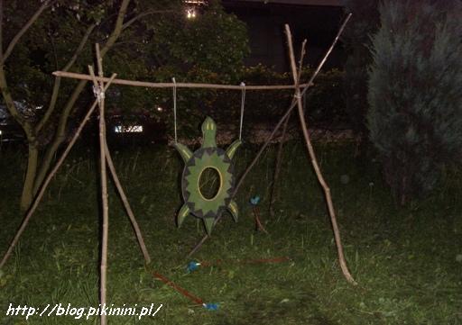 Indiańska tarcza-żółw