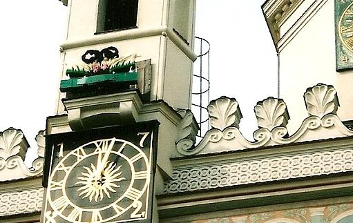 Poznańskie koziołki jako baranki