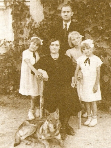 Rodzina Wandy Wasik przed wojną