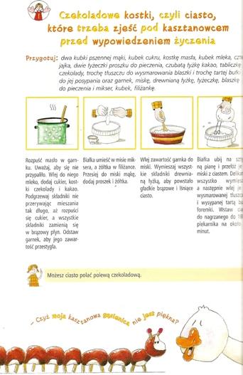 Przepis na czekoladowe ciasto Cecylki