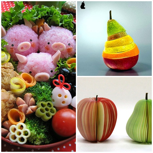 Food design - przykłady