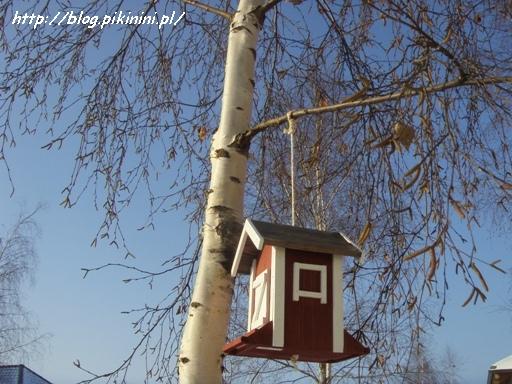 Karmnik-szwedzki domek