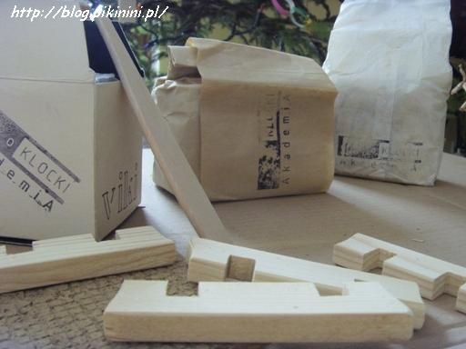 Eko klocki - zestaw materiałów