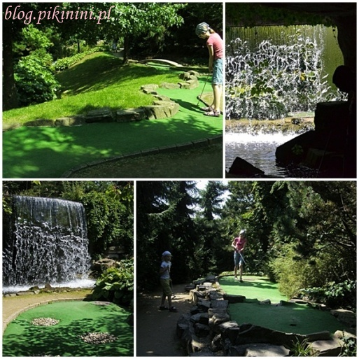 Mini golf w Arcen