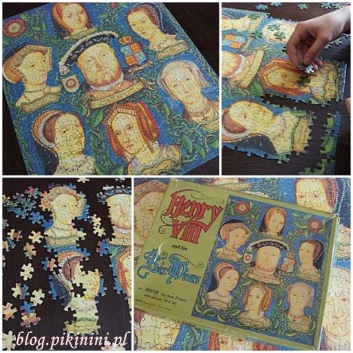 Sześć żon Henryka VIII - puzzle