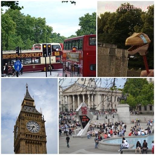 Londyn z pokładu turystycznego autobusu