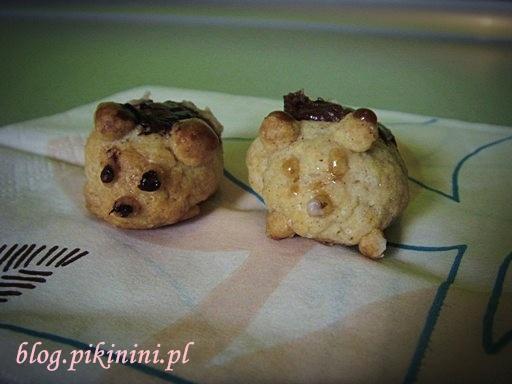 Ciasteczkowe świnki en face