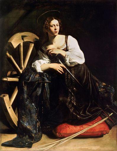 Święta Katarzyna Caravaggia