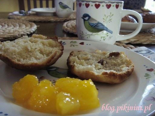 Śniadanko noworoczne z bułeczkami Mamusi Muminka