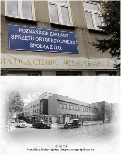 Zakład Ortopedyczny na ulicy Przemysłowej