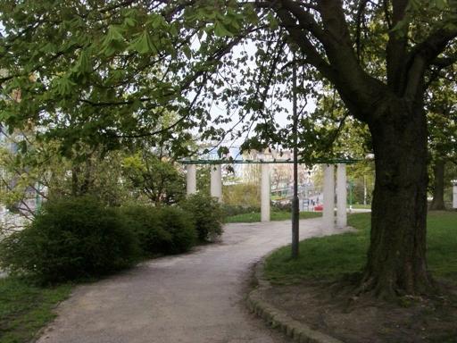 Pergola w Parku Drwęskich