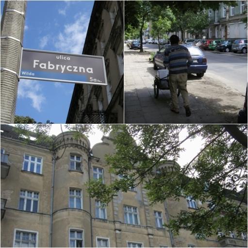 ulica Fabryczna w Poznaniu
