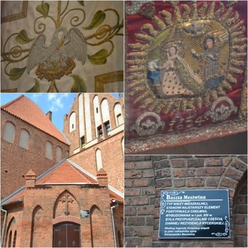 Wnętrze klasztoru w Chełmnie