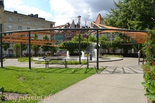 Park na Zielonej w Poznaniu