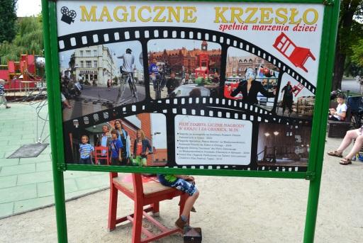 Magiczne krzesło w Bydgoszczy