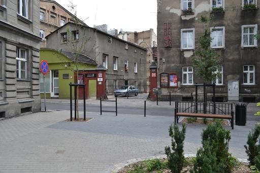 Skwer na Rybakach w Poznaniu