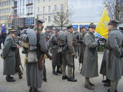 Na Placu Wolności w Poznaniu