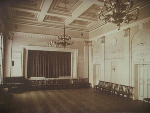 Sala w Domu Tramwajarza