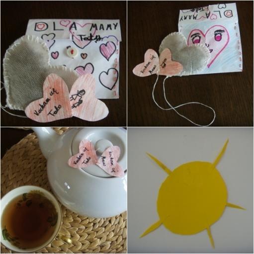 Walentynkowa herbatka