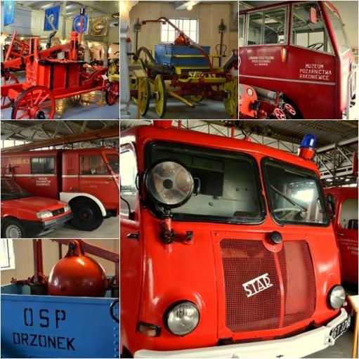 Wozy strażackie w Rakoniewicach
