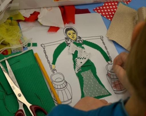 Bamberka na ilustracji