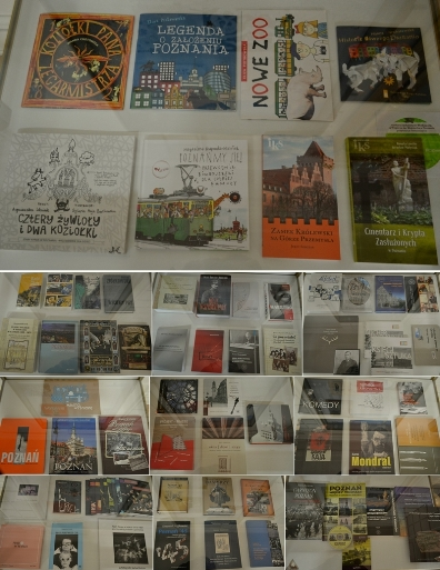Książki na wystawie Posnaniana 2013