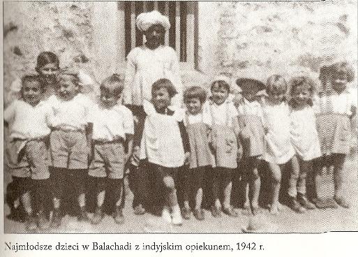 Polskie dzieci w Indiach