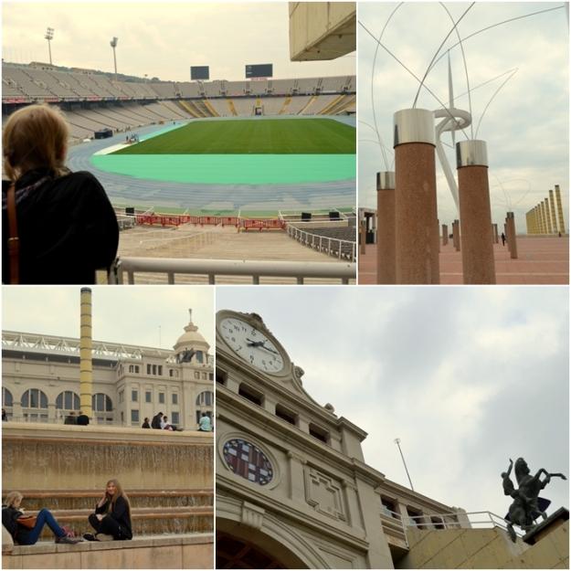 Stadion olimpijski w Barcelonie