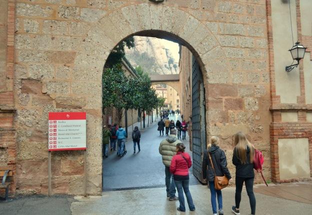 Wejście na Montserrat