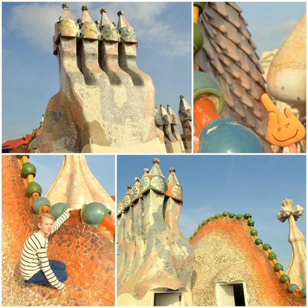 Smocze kominy Casa Batlló