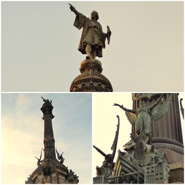 Kolumb w Barcelonie