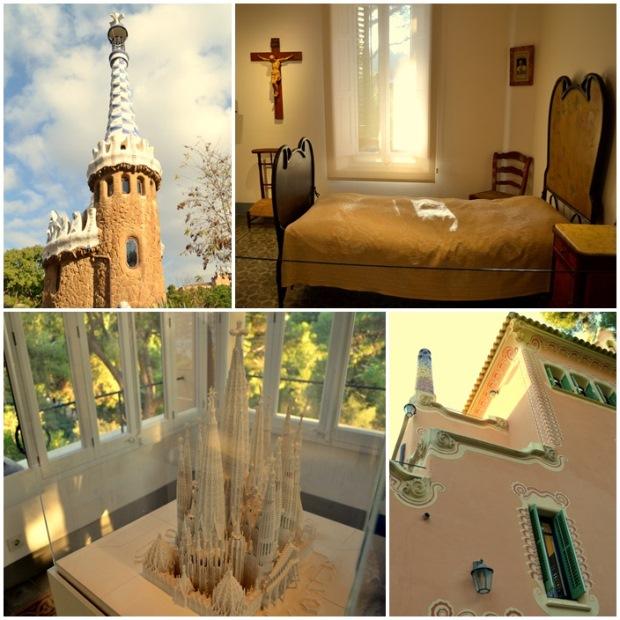 Guell i skromne mieszkanie Gaudiego