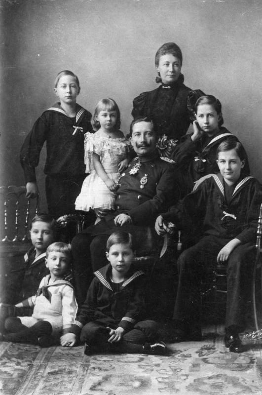 Rodzina cesarza Wilhelma II