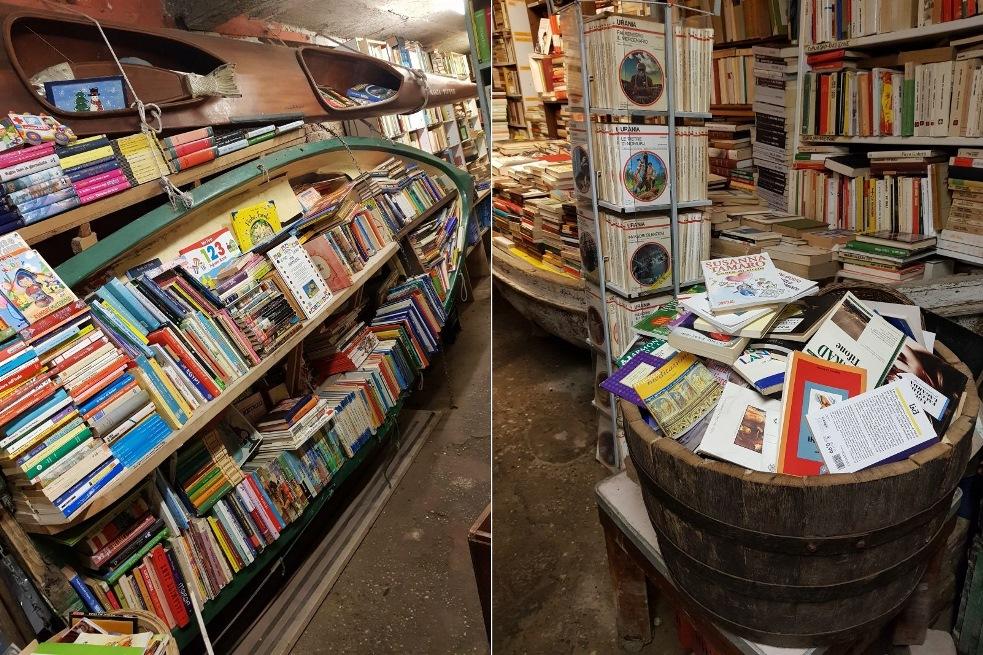 Księgarnia w Wenecji