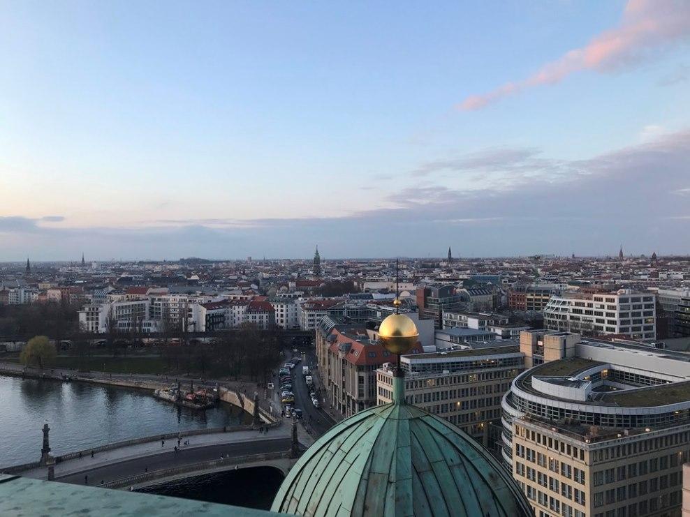 Berlin - widok z katedry