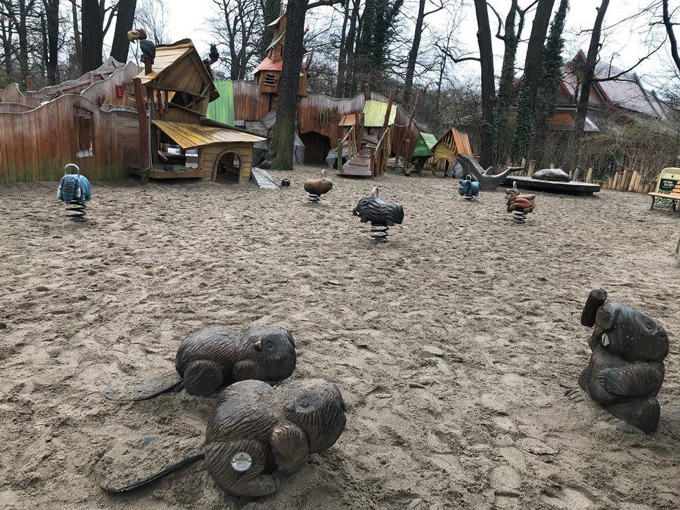 Plac zabaw w berlińskim zoo
