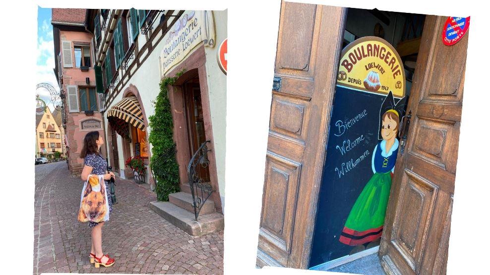 Boulangerie w Kaysersberg