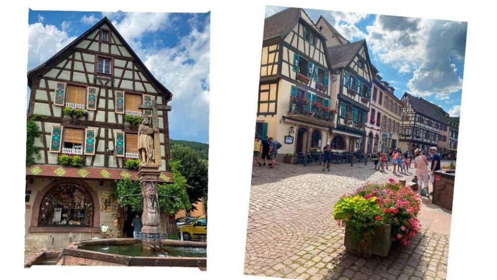 Uliczki w Kaysersberg