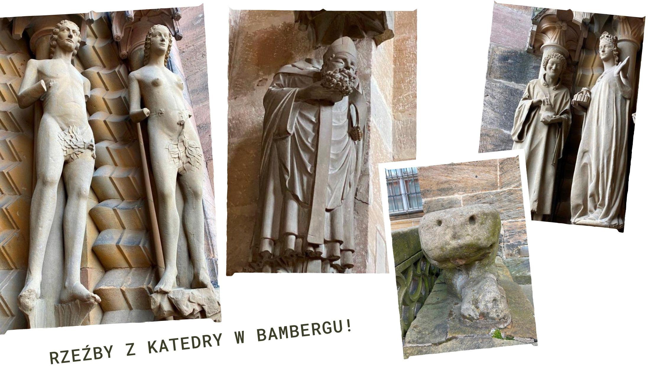 Rzeźby katedra Bamberg