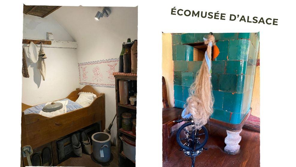 Wnętrza w Ecomusee w Alzacji